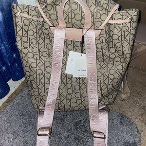 Calvin Klein women's backpack NWT